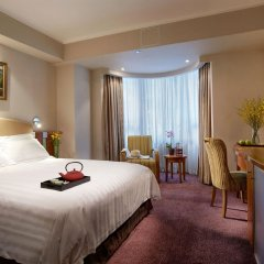 Отель Wharney Guang Dong Hong Kong 4* Улучшенный номер с двуспальной кроватью