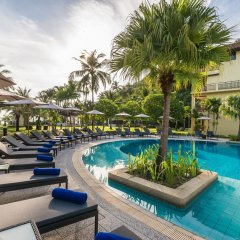 Отель Phuket Marriott Resort & Spa, Merlin Beach открытый бассейн фото 2