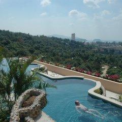 Отель Pacific Club Resort бассейн на крыше