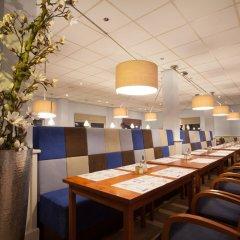 Отель Best Western Amsterdam место для завтрака