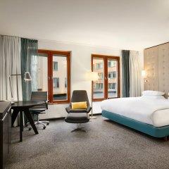 Отель Hilton Stockholm Slussen 4* Стандартный номер с различными типами кроватей