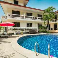 Отель Tropical Palm Resort Самуи открытый бассейн