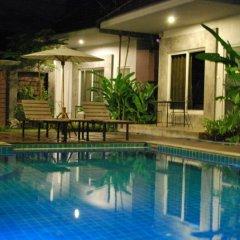 Отель Laila Pool Village открытый бассейн