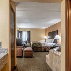 Отель Quality Inn Tully I-81 2* Стандартный номер с различными типами кроватей