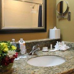 Отель Courtyard By Marriott Cancun Airport раковина ванной комнаты