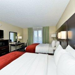 Отель Comfort Inn & Suites near Universal Orlando Resort 2* Люкс с различными типами кроватей