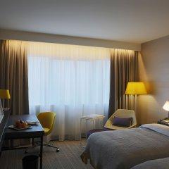 Отель Crowne Plaza Belgrade Сербия, Белград - отзывы, цены и фото номеров - забронировать отель Crowne Plaza Belgrade онлайн комната для гостей фото 5
