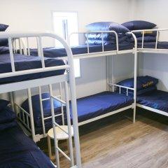 Отель Seoul Dalbit Dongdaemun Guesthouse 2* Кровать в женском общем номере с двухъярусной кроватью