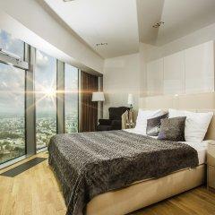 Отель Apartamenty Sky Tower Улучшенные апартаменты с различными типами кроватей