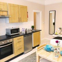 United Lodge Hotel & Apartments 3* Семейная студия с двуспальной кроватью