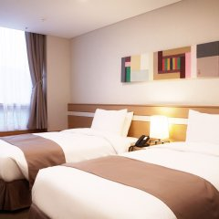 Tmark Hotel Myeongdong 3* Номер Делюкс с 2 отдельными кроватями