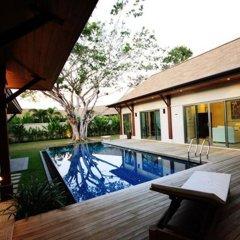 Отель Two Villas Holiday Oriental Style Layan Beach комната для гостей фото 15