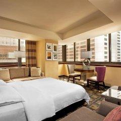 Отель Sheraton New York Times Square 4* Улучшенный номер с различными типами кроватей фото 2