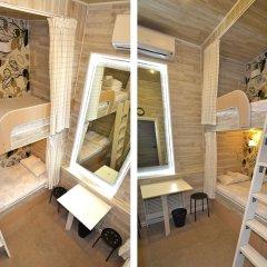 Хостел Казанское Подворье Кровать в мужском общем номере с двухъярусной кроватью фото 7