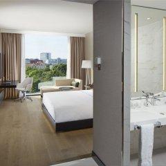 Отель Hilton Tallinn Park 4* Стандартный номер с разными типами кроватей фото 3