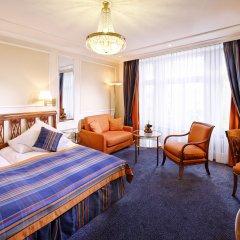 Отель Schweizerhof Zürich 4* Стандартный номер с различными типами кроватей фото 6