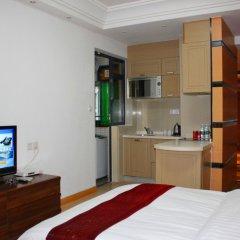 Апартаменты She & He Service Apartment - Huifeng Стандартный номер с различными типами кроватей