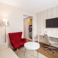 Отель NH Collection Frankfurt City 4* Люкс с различными типами кроватей фото 5