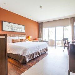 Отель Crowne Plaza Phuket Panwa Beach 5* Улучшенный номер с различными типами кроватей фото 2