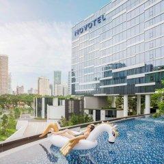 Отель Novotel Singapore on Stevens бассейн