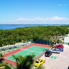 Отель Solymar Cancun Beach Resort теннисный корт