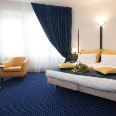 Отель IH Hotels Milano Ambasciatori 4* Улучшенный номер с различными типами кроватей фото 2