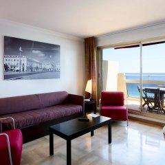 Отель Aparthotel Adagio Nice Promenade des Anglais 4* Апартаменты с различными типами кроватей