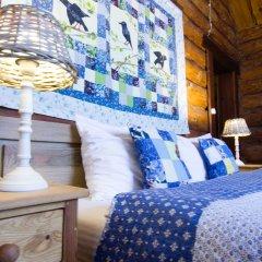 Гостевой дом Бобровая Долина Номер Шырчик (Скворец) с различными типами кроватей