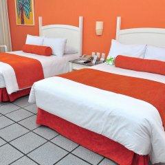 Отель Flamingo Cancun Resort Мексика, Канкун - отзывы, цены и фото номеров - забронировать отель Flamingo Cancun Resort онлайн комната для гостей фото 6