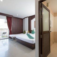 Отель Patong Buri 3* Стандартный номер с различными типами кроватей