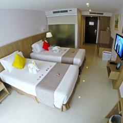 Andaman Beach Suites Hotel 4* Улучшенный номер разные типы кроватей фото 3