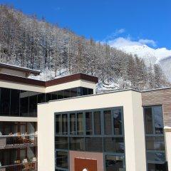 Отель Bergland Design- und Wellnesshotel Австрия, Зёльден - отзывы, цены и фото номеров - забронировать отель Bergland Design- und Wellnesshotel онлайн балкон