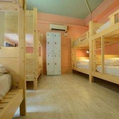 Kali Inn Hostel Кровать в женском общем номере с двухъярусной кроватью