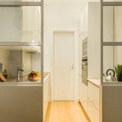 Апартаменты Hintown Apartments Montenapoleone Милан кухня в номере фото 2