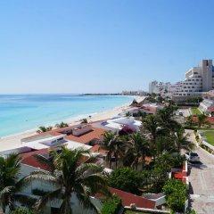 Отель Solymar Cancun Beach Resort вид на пляж/океан