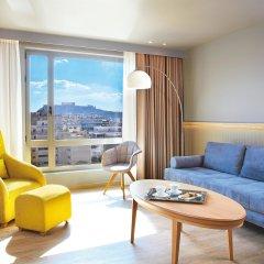 Отель Wyndham Grand Athens 5* Представительский люкс с различными типами кроватей фото 2