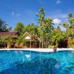 Отель Baan Suan Resort открытый бассейн фото 2