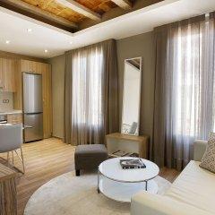 Отель Milà Apartamentos Barcelona Апартаменты Премиум с различными типами кроватей