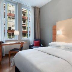 Отель Hilton Cologne 4* Стандартный номер разные типы кроватей фото 14