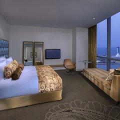 Jumeirah at Etihad Towers Hotel 5* Улучшенный номер с различными типами кроватей фото 2