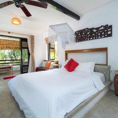 Отель An Bang Coco Villa 2* Улучшенный номер с различными типами кроватей