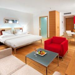 Отель Andel's by Vienna House Prague 4* Студия Делюкс с различными типами кроватей фото 3