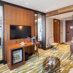 Отель TITANIC Chaussee Berlin 4* Люкс Titanic с различными типами кроватей фото 2