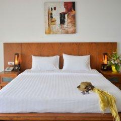 Отель Tri Trang Beach Resort by Diva Management 4* Улучшенный номер разные типы кроватей фото 2