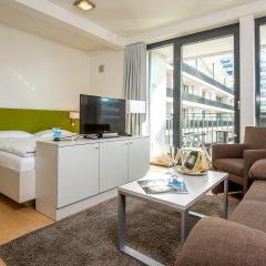 Отель Carat Residenz-Apartmenthaus Апартаменты с различными типами кроватей