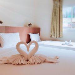 Pimrada Hotel 3* Стандартный семейный номер разные типы кроватей