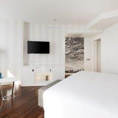 Hotel NH Düsseldorf City Nord 4* Улучшенный номер разные типы кроватей фото 8