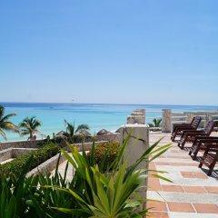 Отель Solymar Cancun Beach Resort крыльцо
