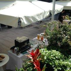 Отель Hilton Garden Inn Milan North терраса/патио