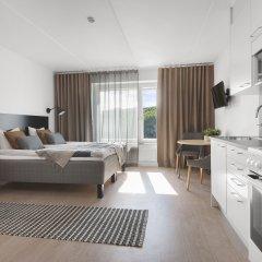 Отель Forenom Aparthotel Stockholm Flemingsberg 3* Студия с различными типами кроватей